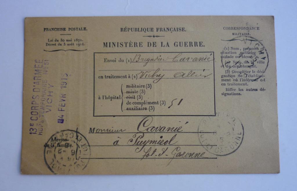 Trouvailles du week-end (drapeaux libé, cartes, papiers WW1...) 14_110