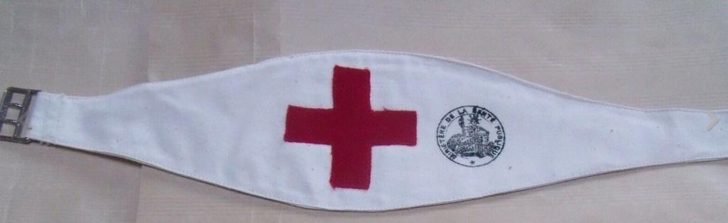 Brassard croix rouge B10