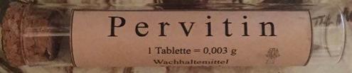 Tube de pervitine Pervit10