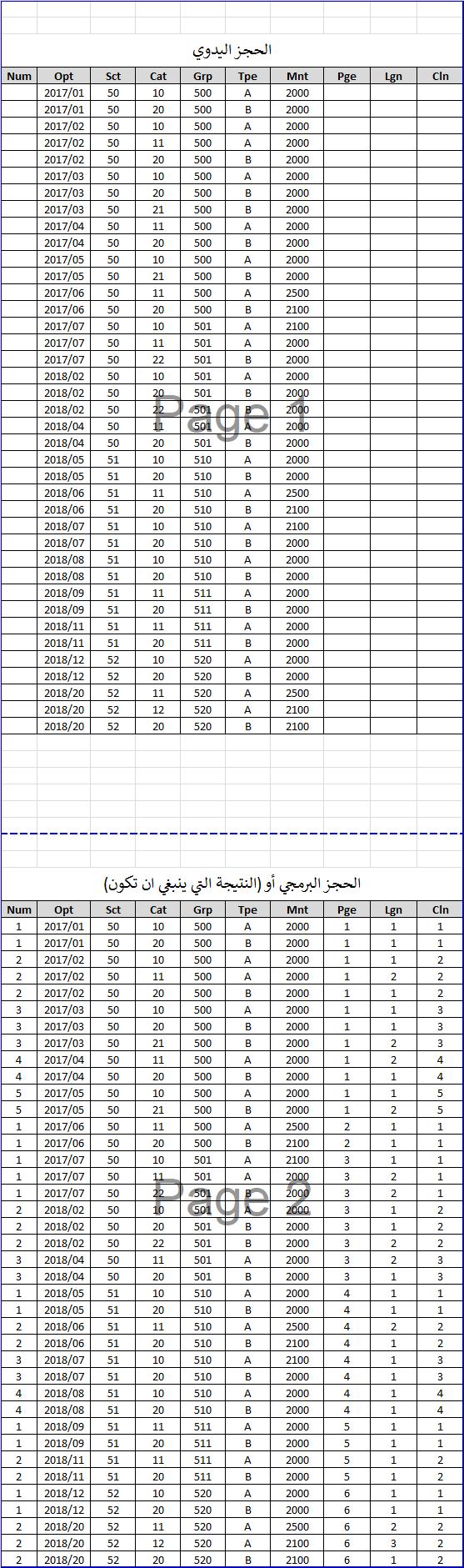 كيف اتحكم في ترقيم معين حسب كل فرقة (المرحلة الثانية) Testen10