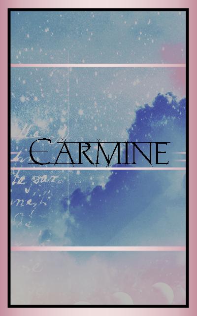 c a r m i n e Carmin13