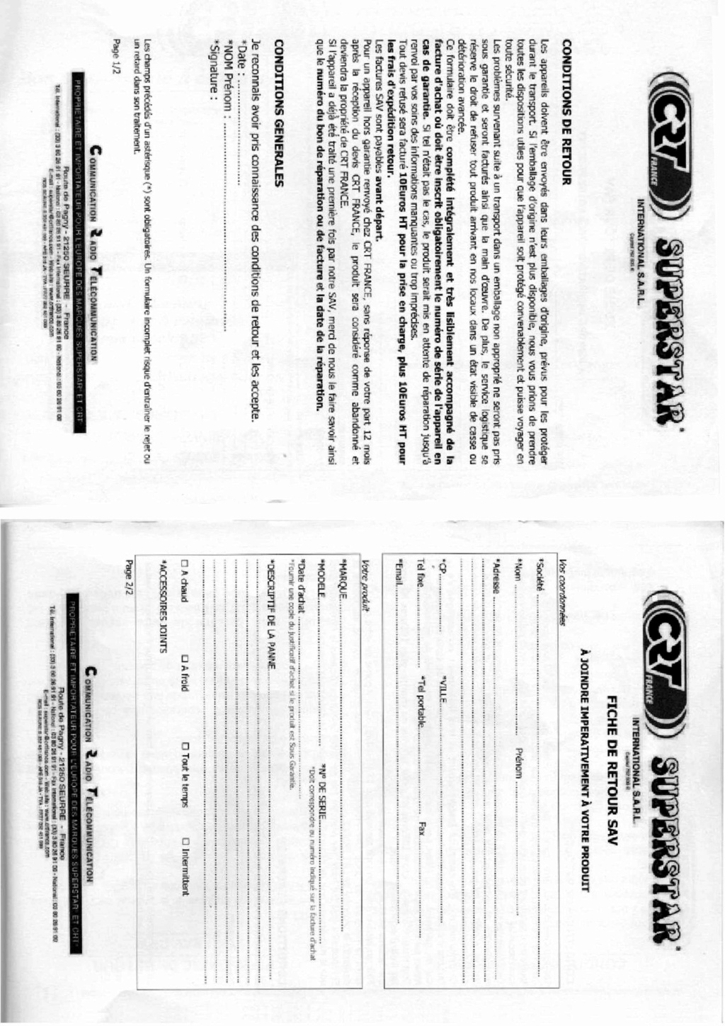 CRT SS 9900 v4 (Mobile) - Page 16 Feuill40