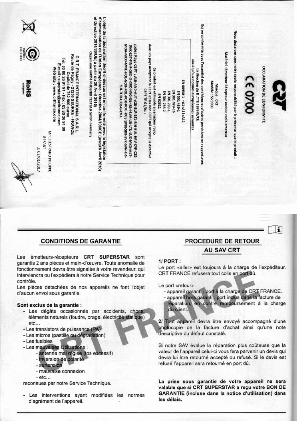 CRT SS 9900 v4 (Mobile) - Page 16 Feuill41