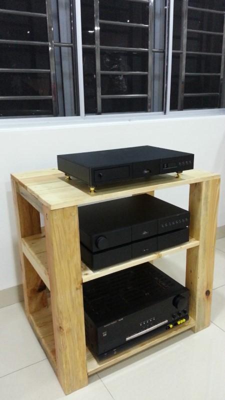 Hifi Wooden Rack - sold 21011