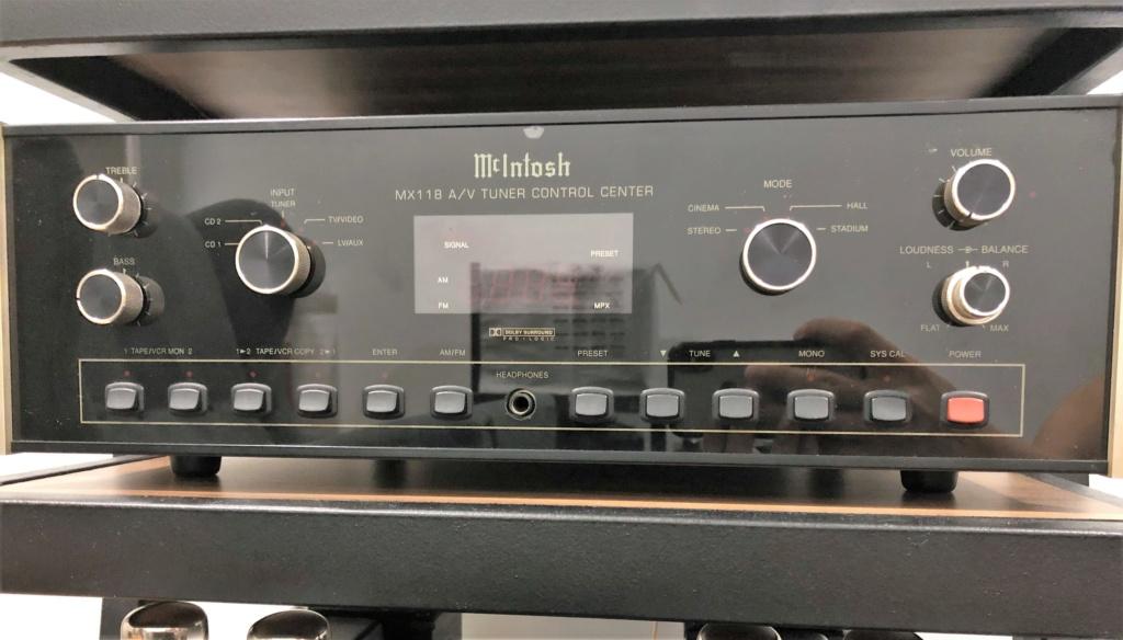 Mcintosh MX118 Pre-amp / AV processor / Tuner -sold Img_1820