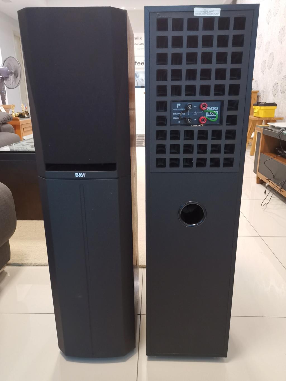B&W DM305 PRISM System Floorstand Speakers -sold Img_2031