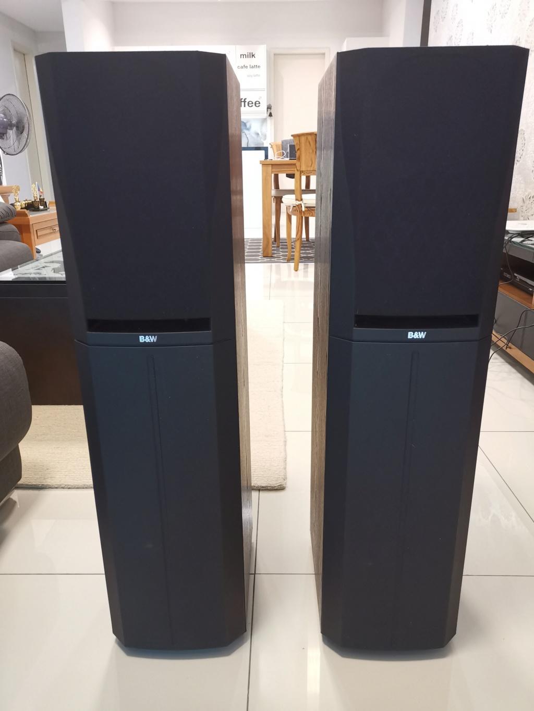 B&W DM305 PRISM System Floorstand Speakers -sold Img_2032