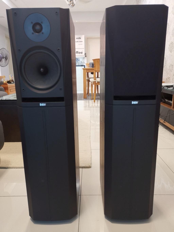B&W DM305 PRISM System Floorstand Speakers -sold Img_2033