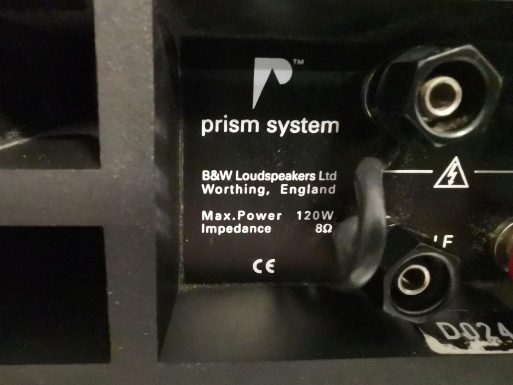 B&W DM305 PRISM System Floorstand Speakers -sold Img_2034