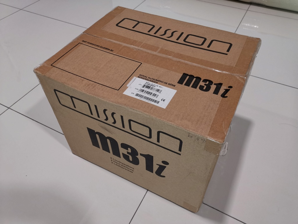 Mission M31i Bookshelf speaker for sale - sold Img_2080