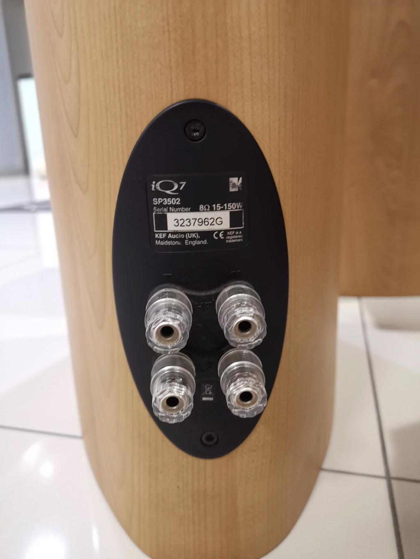 KEF iQ7 floorstand speaker  Img_2084