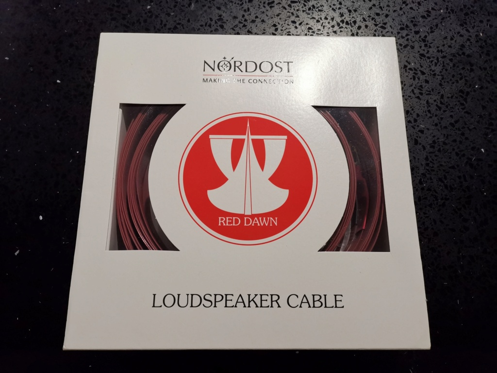 Nordost Red Dawn LS speaker cable -sold Img_2128