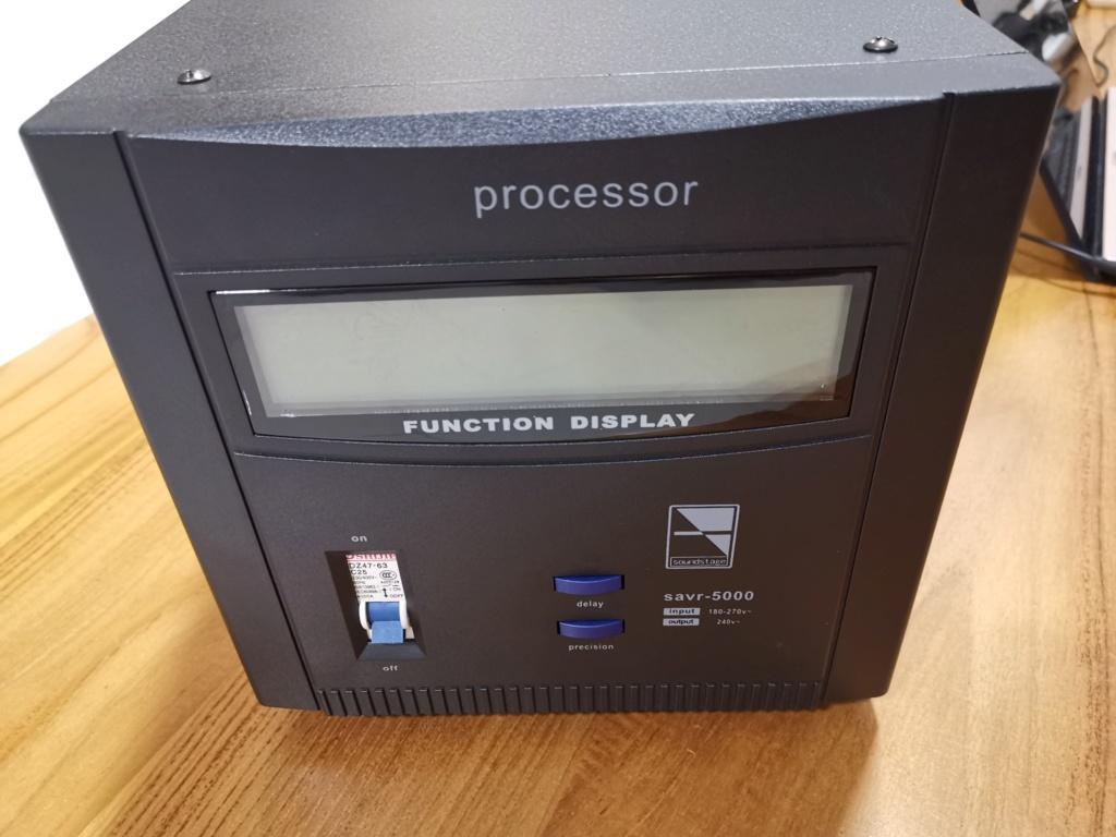 Soundstage SAVR-5000 Auto Voltage Regulator (sold) Img_2157