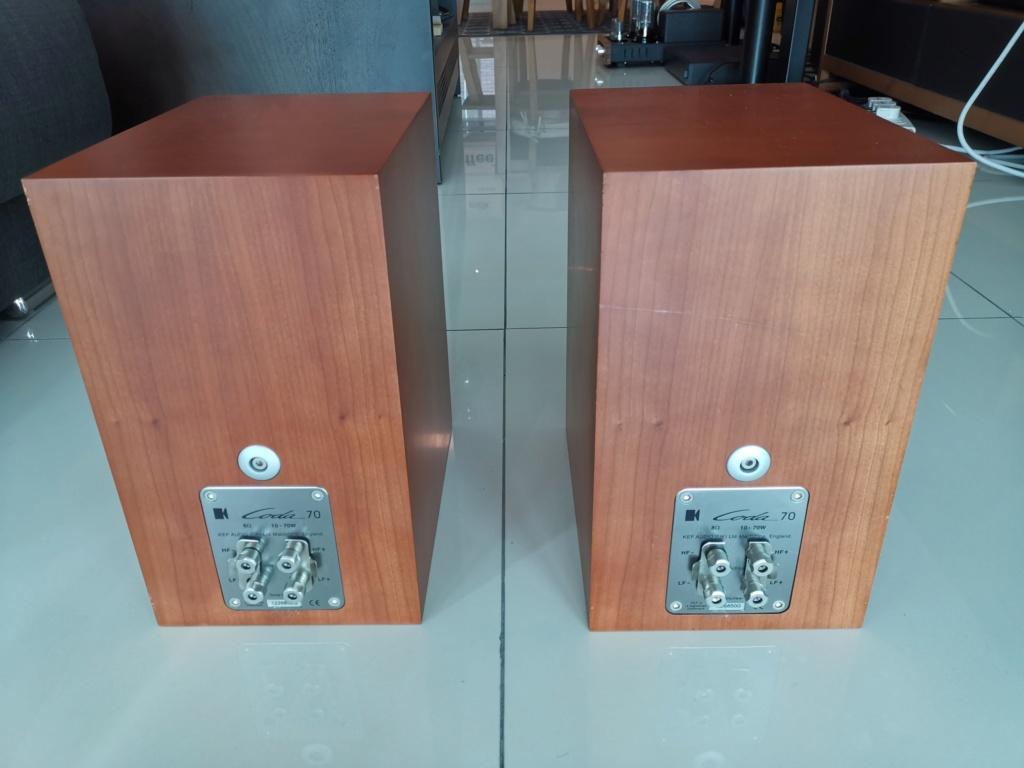 KEF Coda 70 bookshelf speaker Img_2159