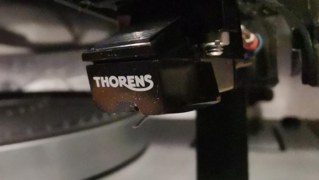 Thorens TD 165 Vintage Turntable Img_2168