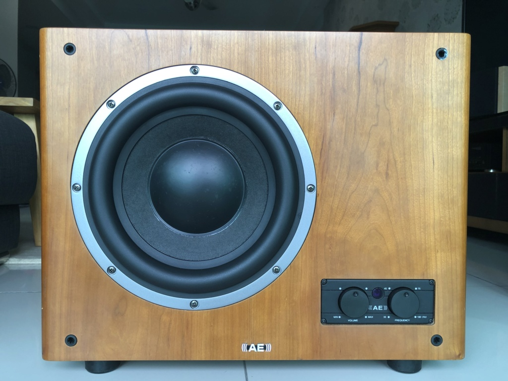 AE AeLite Active Subwoofer - price reduced Img_2815