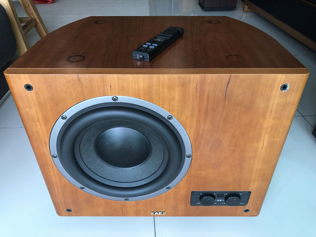AE AeLite Active Subwoofer - price reduced Img_2816