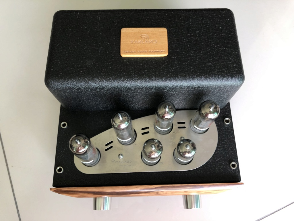 Yarland Integrated EL84 Tube amplifier -sold Img_2921