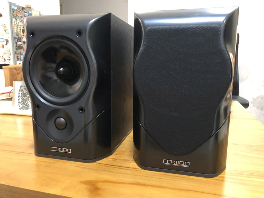 Mission MV-4 Bookshelf Speaker - sold Img_3612