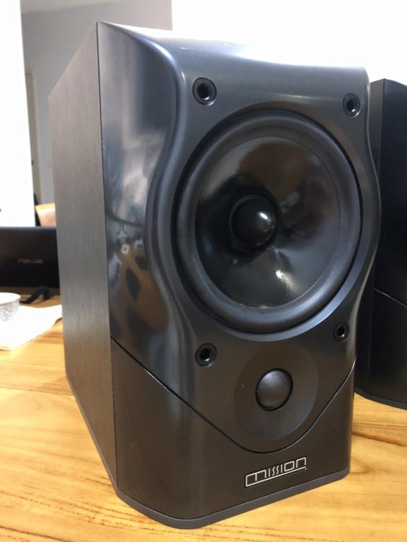 Mission MV4 Bookshelf speaker - sold Img_3615