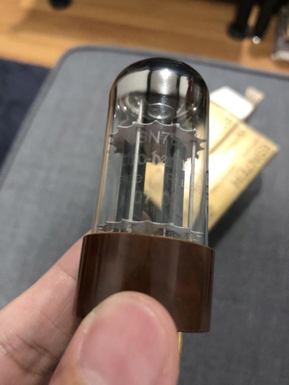Electro Harmonix 6SN7 EH Gold pin (sold) Img_4013