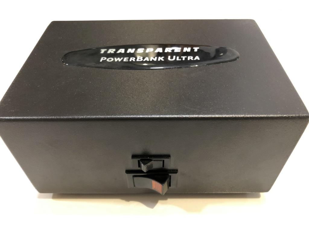 Transparent Audio PowerBank Ultra - Sold Img_4614