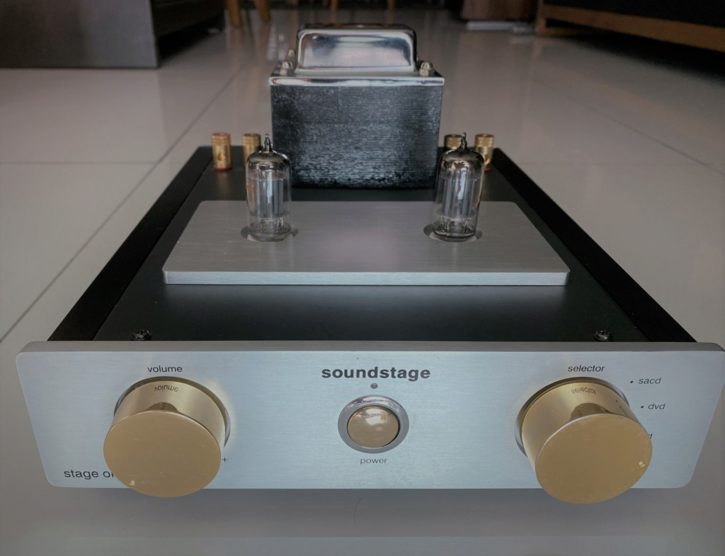 Soundstage Stage One Integrated Hybrid amplifier Img_5213