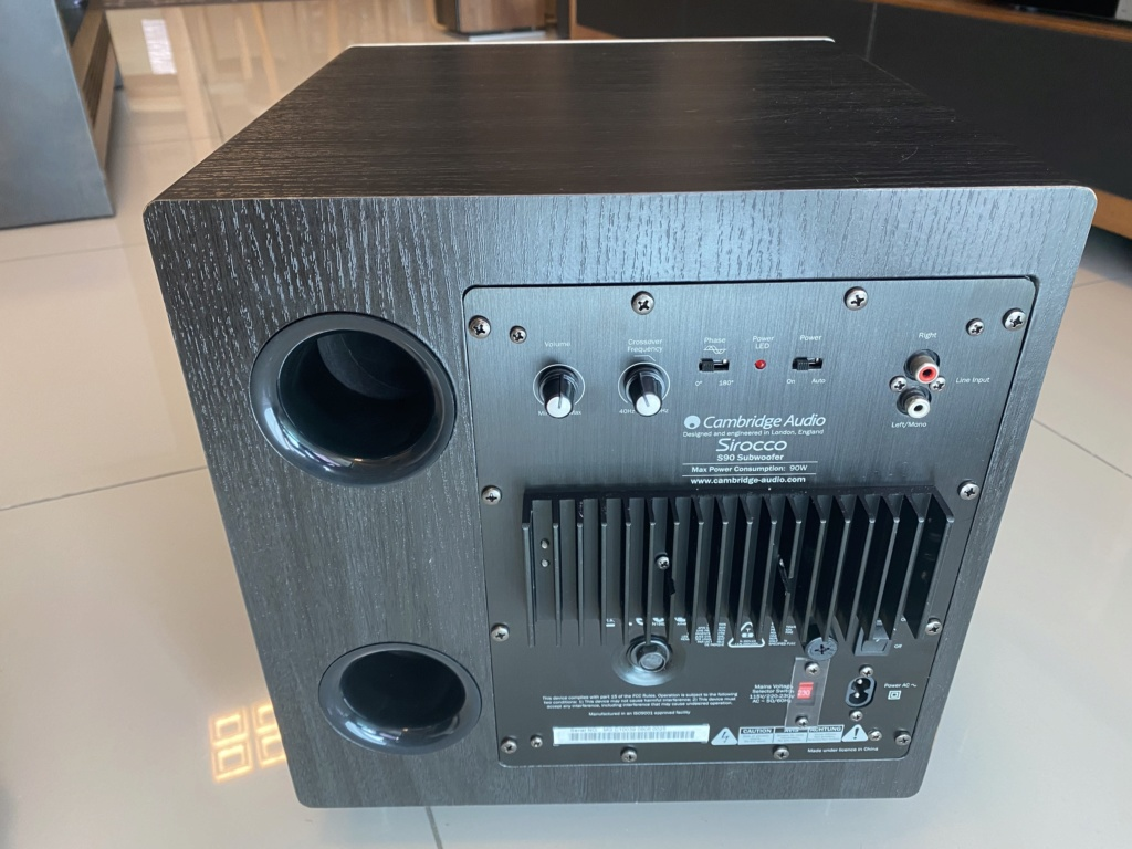 Cambridge Audio Sirocco S90 Subwoofer (sold) Img_5221