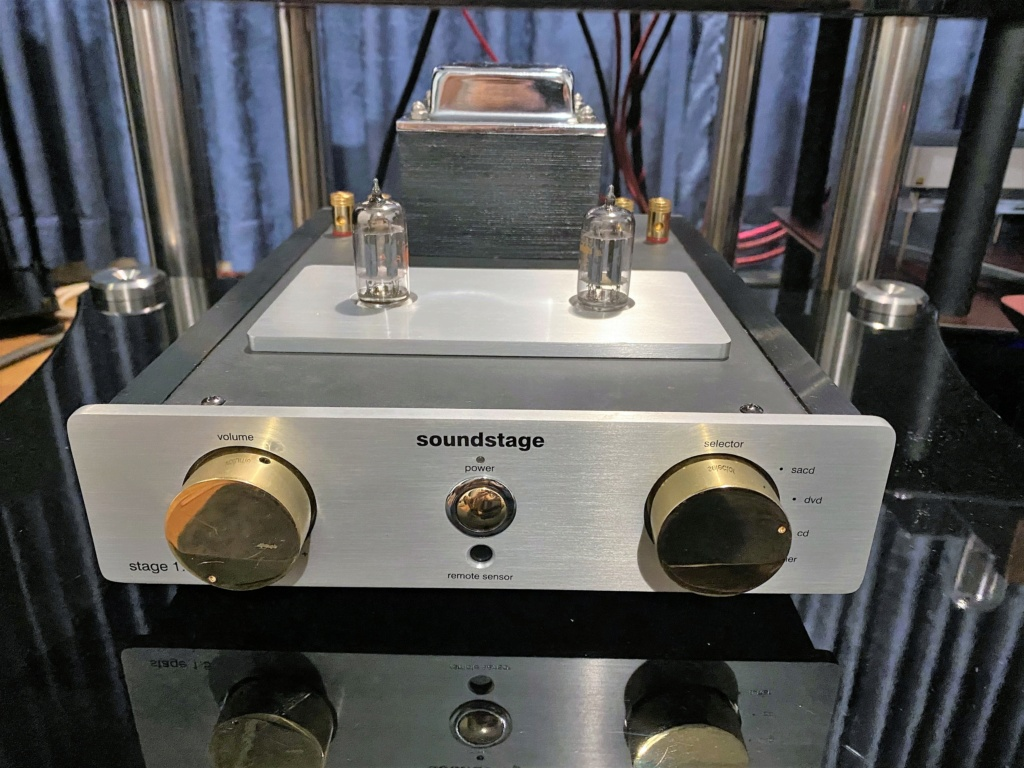 Soundstage Stage 1.5 Integrated Hybrid Amplifier- sold Img_5223