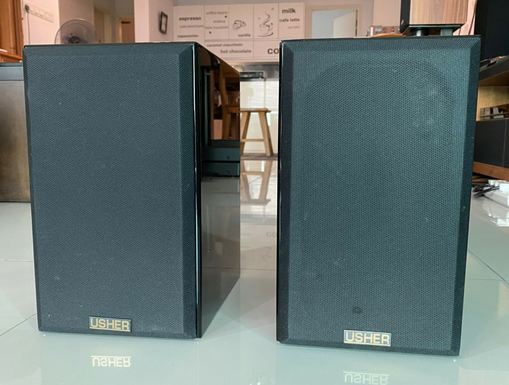 Usher S-520 bookshelf speaker (sold) Img_5513