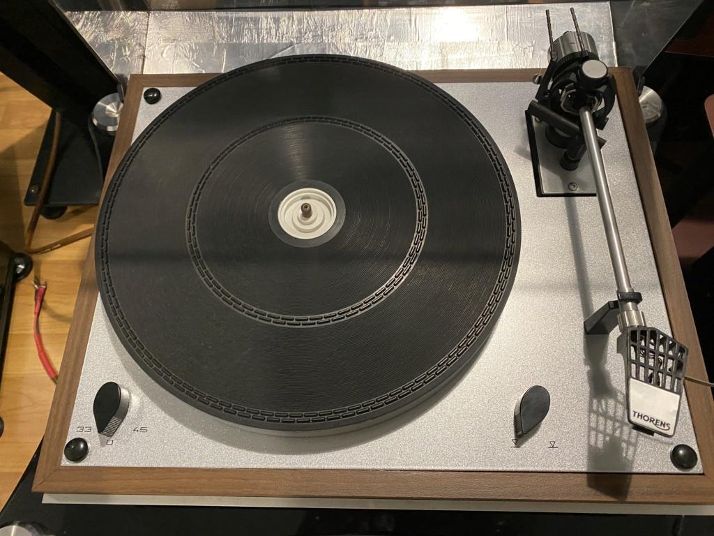 Thorens TD 165 Vintage Turntable Img_5514