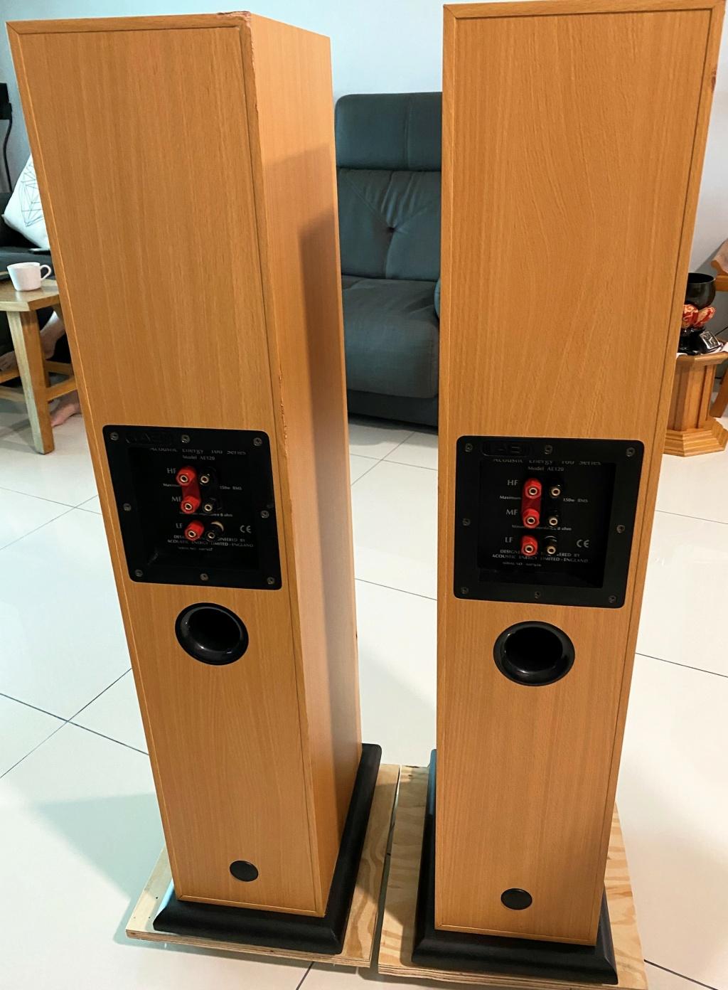 Acoustics Energy AE120 Floorstand Speaker - sold Img_5913