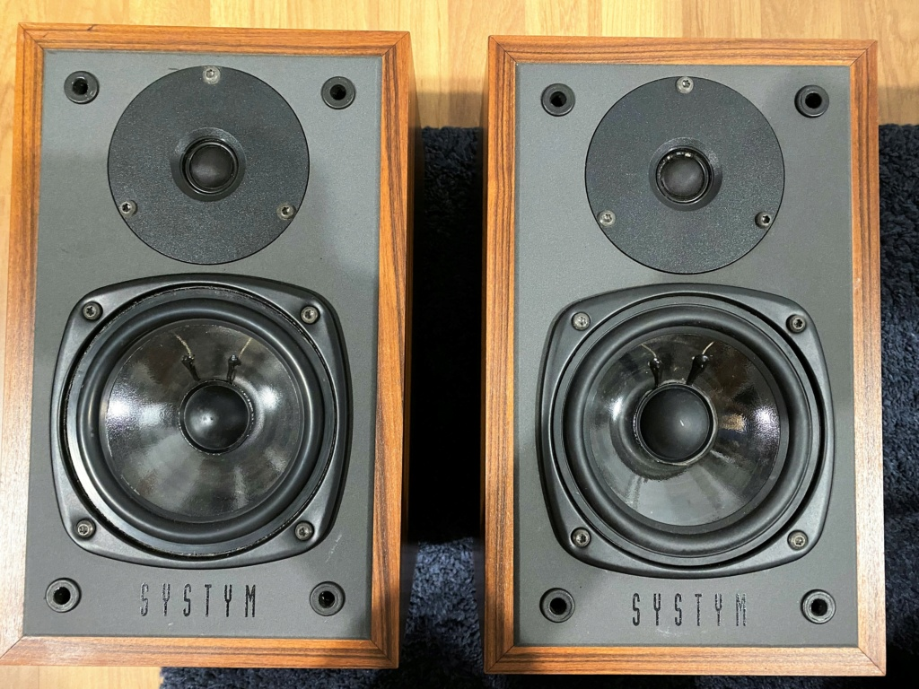 Systym 931s Bookshelf speaker (sold) Img_7811