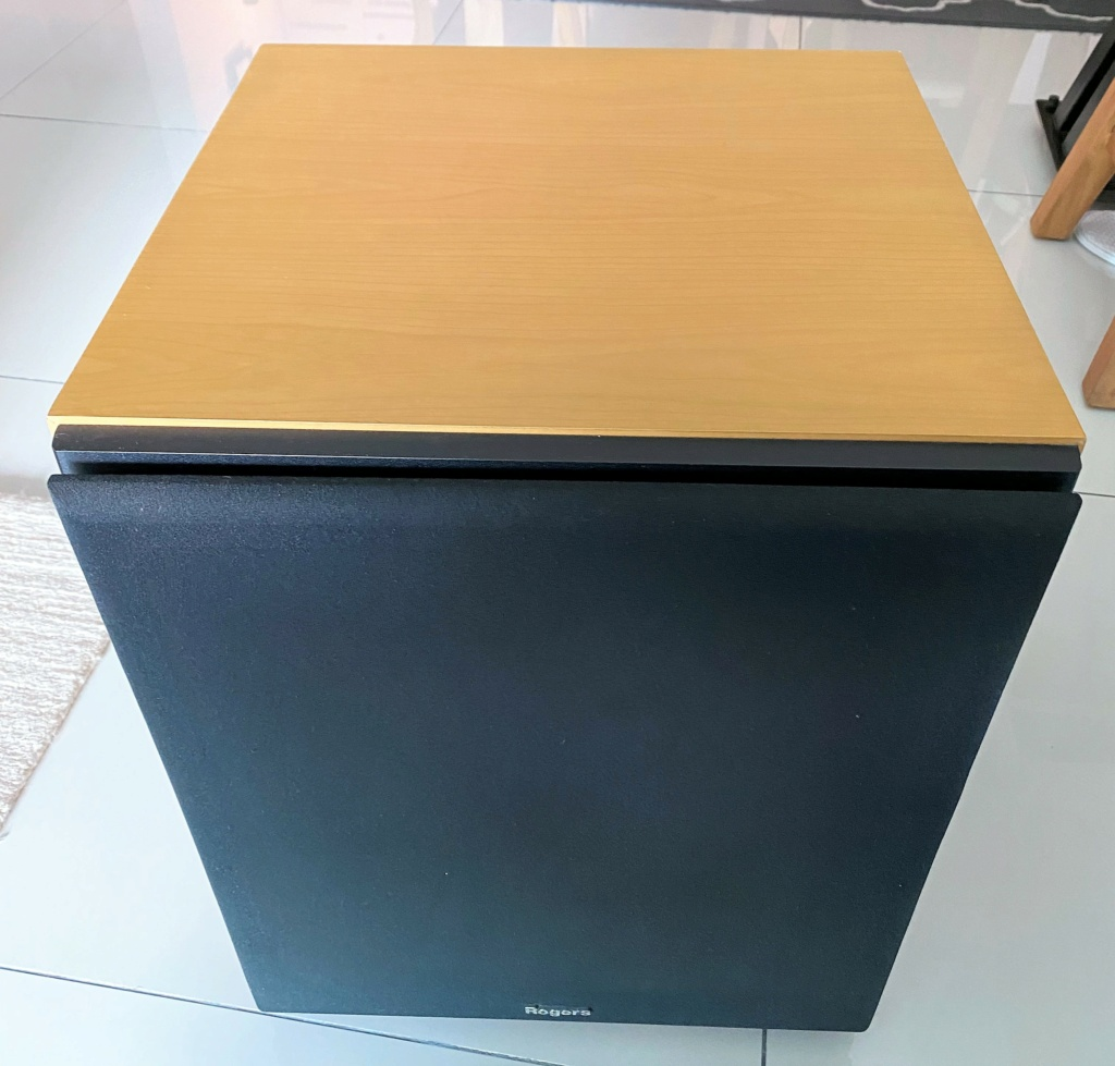 """Rogers 12"""" Active Subwoofer ASB-120M (sold) Img_8017"""