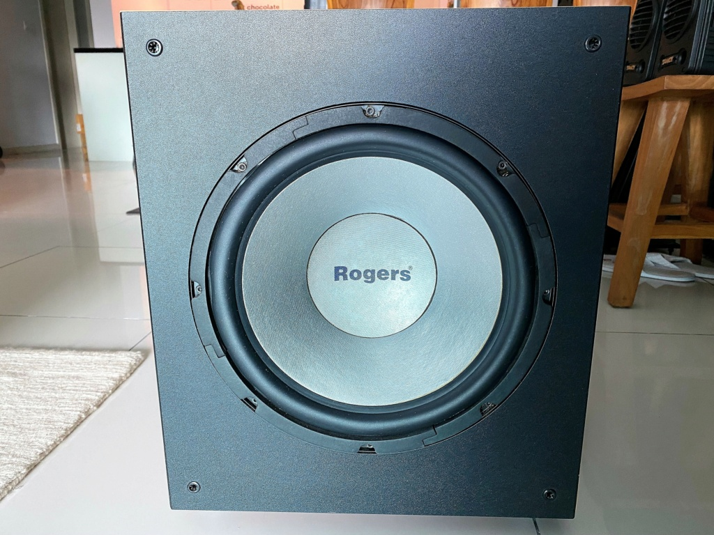 """Rogers 12"""" Active Subwoofer ASB-120M (sold) Img_8019"""