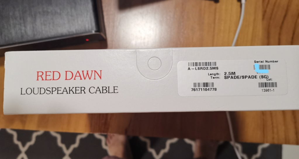Nordost Red Dawn LS speaker cable -sold Inkedi12