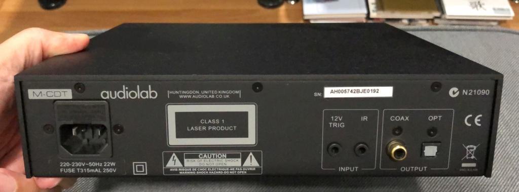 Audiolab M-CDT CD Transport - sold Loxy1711