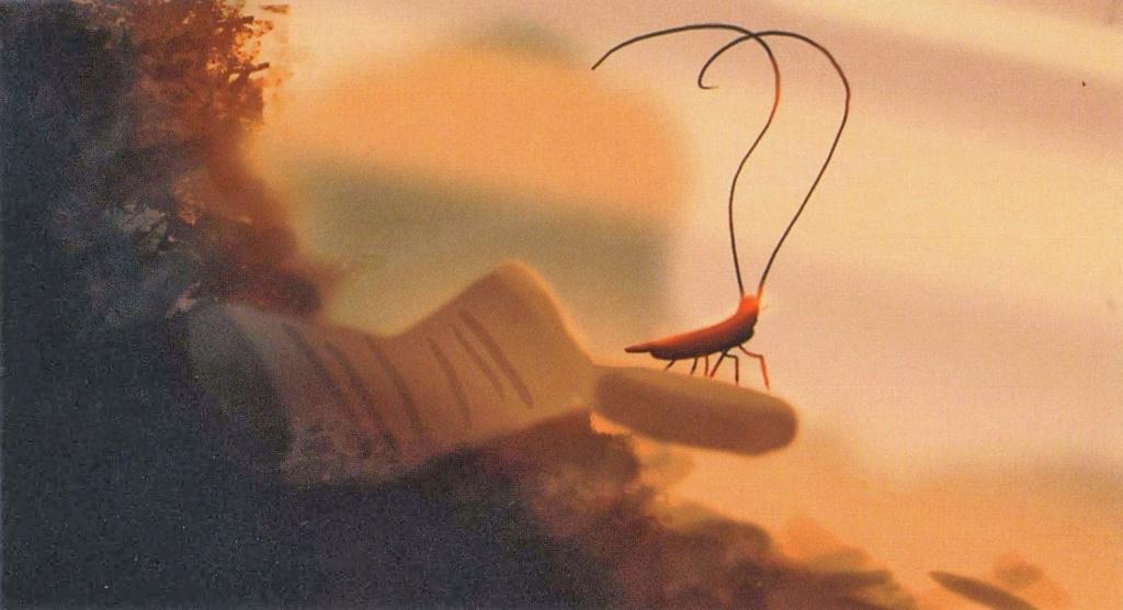 Alfonso, la cucaracha. Wall-e10