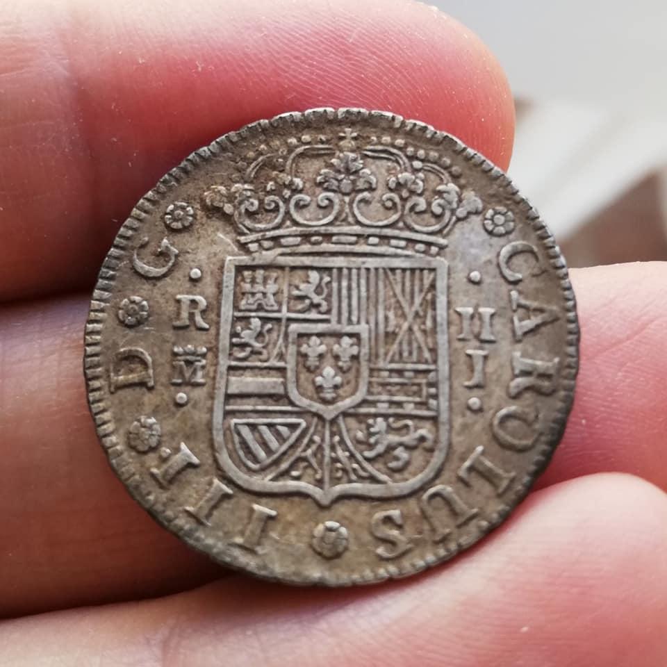 2 Reales Carlos III 1759 - Madrid - J 98316810