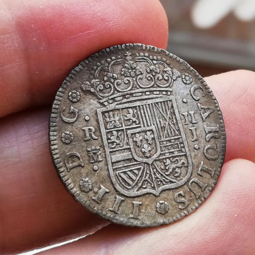 2 Reales Carlos III 1759 - Madrid - J 98353410