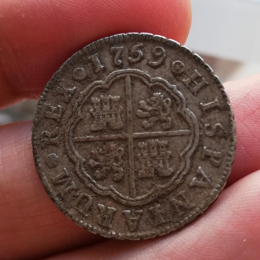 2 Reales Carlos III 1759 - Madrid - J 98356410
