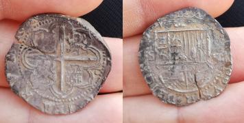Por último, 2 Reales Felipe II. Sevilla Felipe10