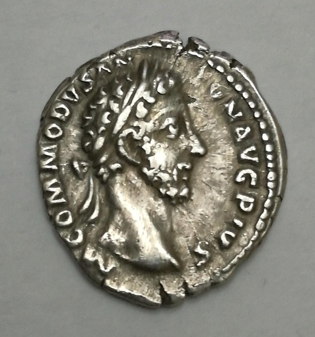 Denario de Cómodo. TR P VIII IM-P VI COS IIII P P. Minerva avanzando a dcha. Roma Img_2014