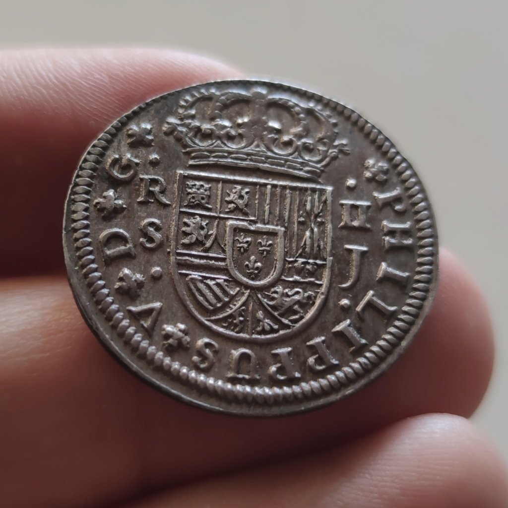 Buenos días - 2 Reales de Felipe V 1725 Sevilla  Img_2088