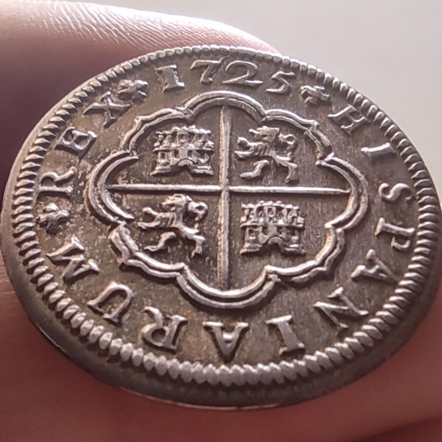Buenos días - 2 Reales de Felipe V 1725 Sevilla  Img_2090