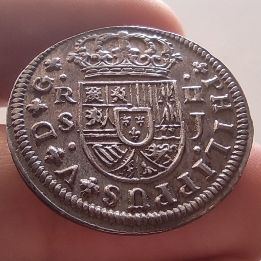 Buenos días - 2 Reales de Felipe V 1725 Sevilla  Img_2091