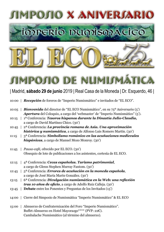 I Quedada del foro/Simposio Numismático (Madrid, 29 junio). - Página 2 Simpos10