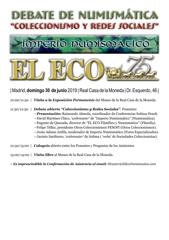I Quedada del foro/Simposio Numismático (Madrid, 29 junio). - Página 2 Simpos11