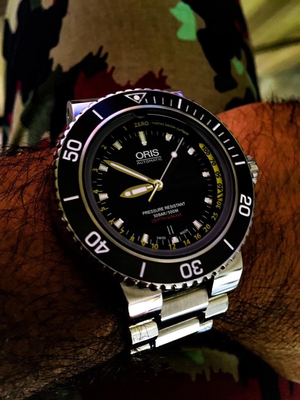 Impresiones  de uso del Oris depth gauge 56d2c410