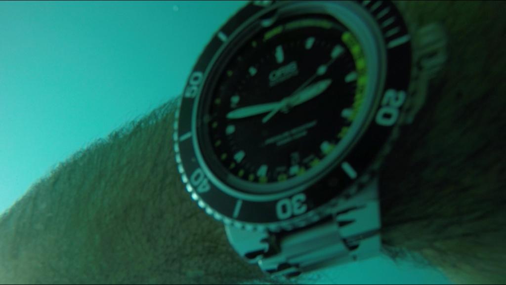 Impresiones  de uso del Oris depth gauge B445f310